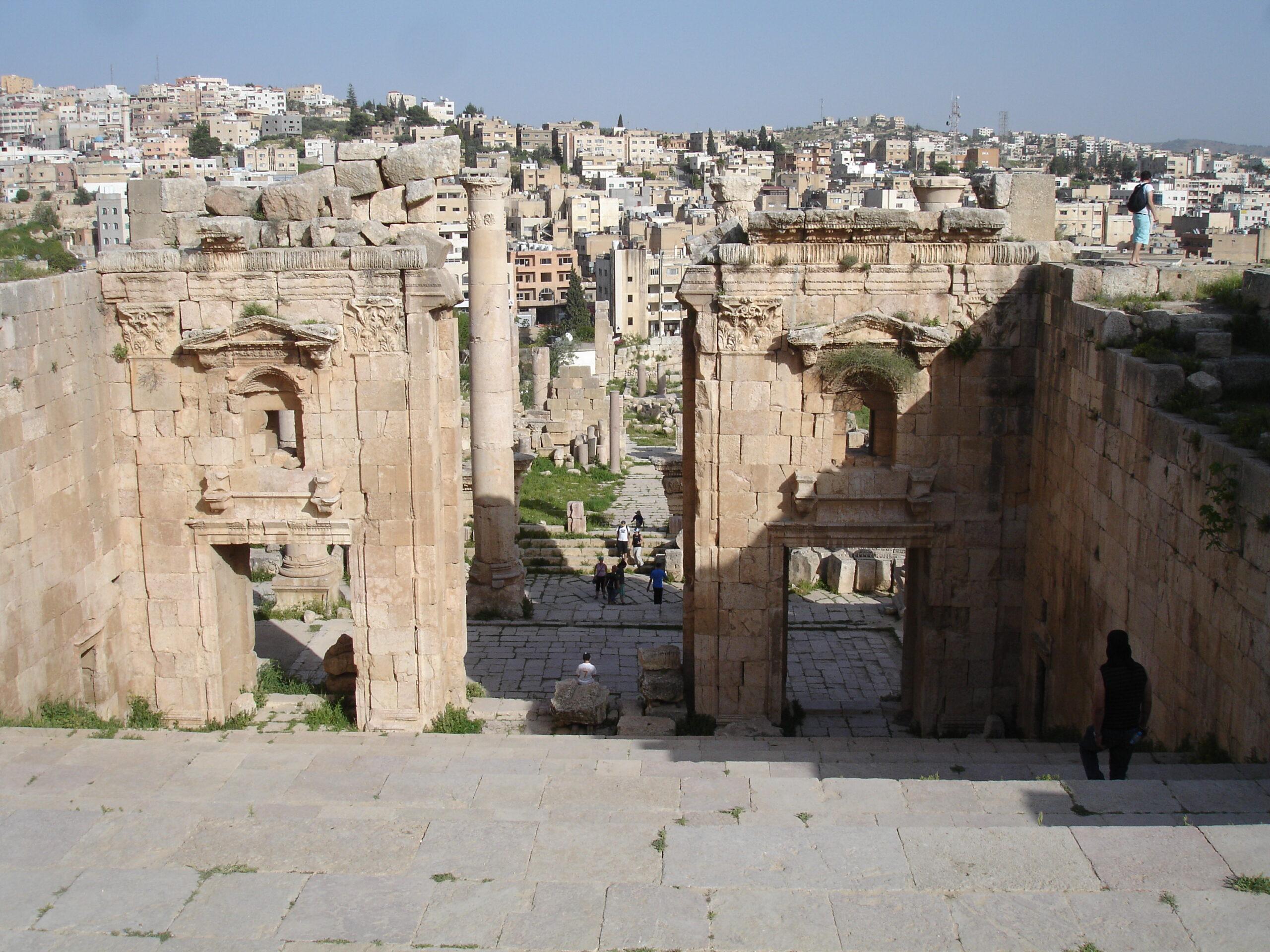 Jerash – where past and present meet