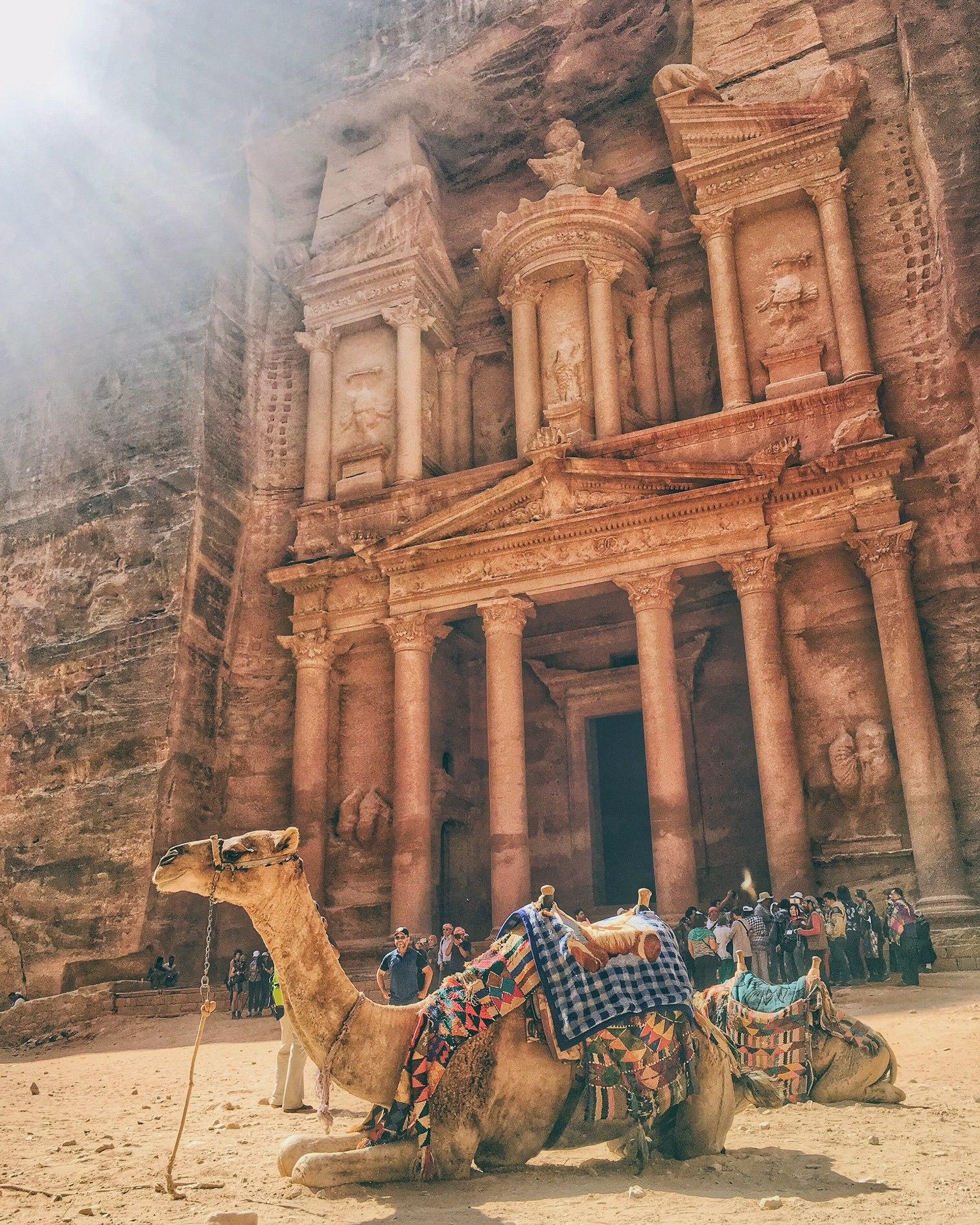 Petra – Al-Khazneh (the Treasury)