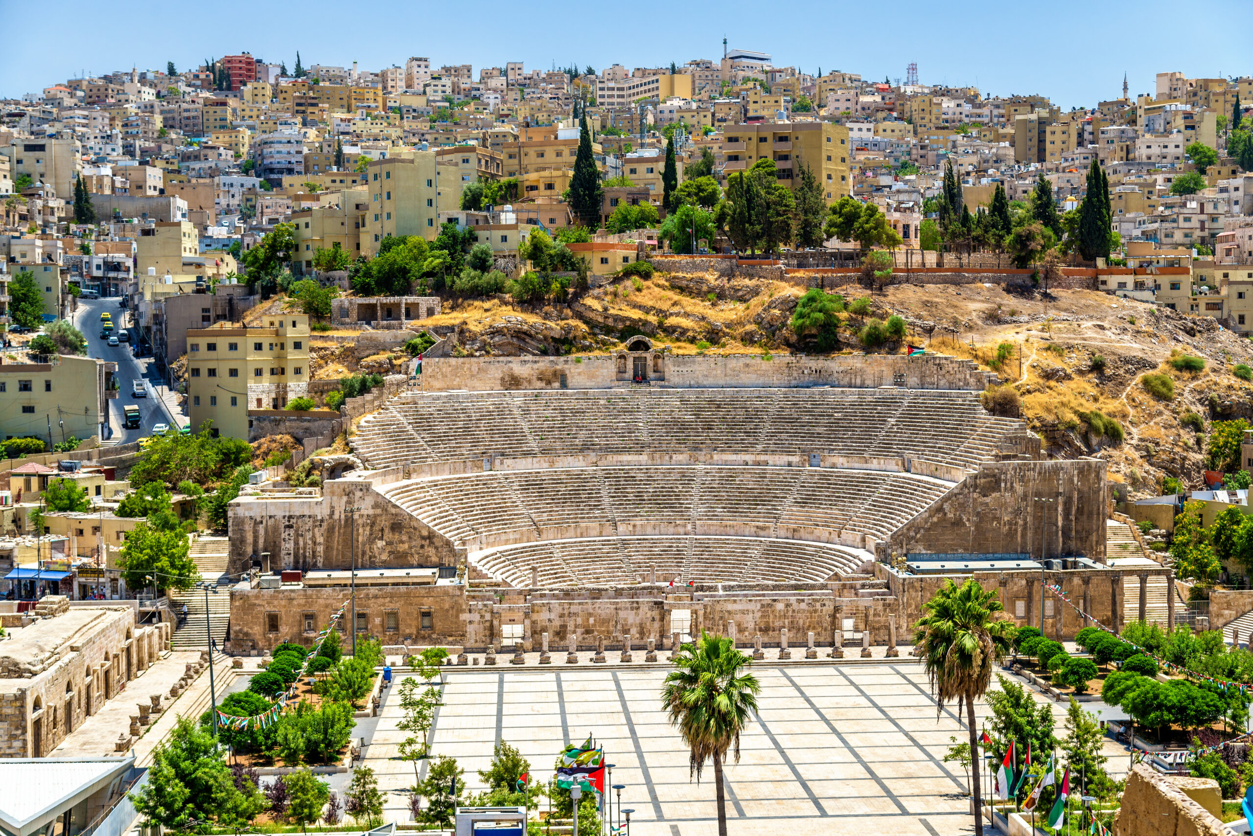 Roman Amphitheater in Downtown Amman