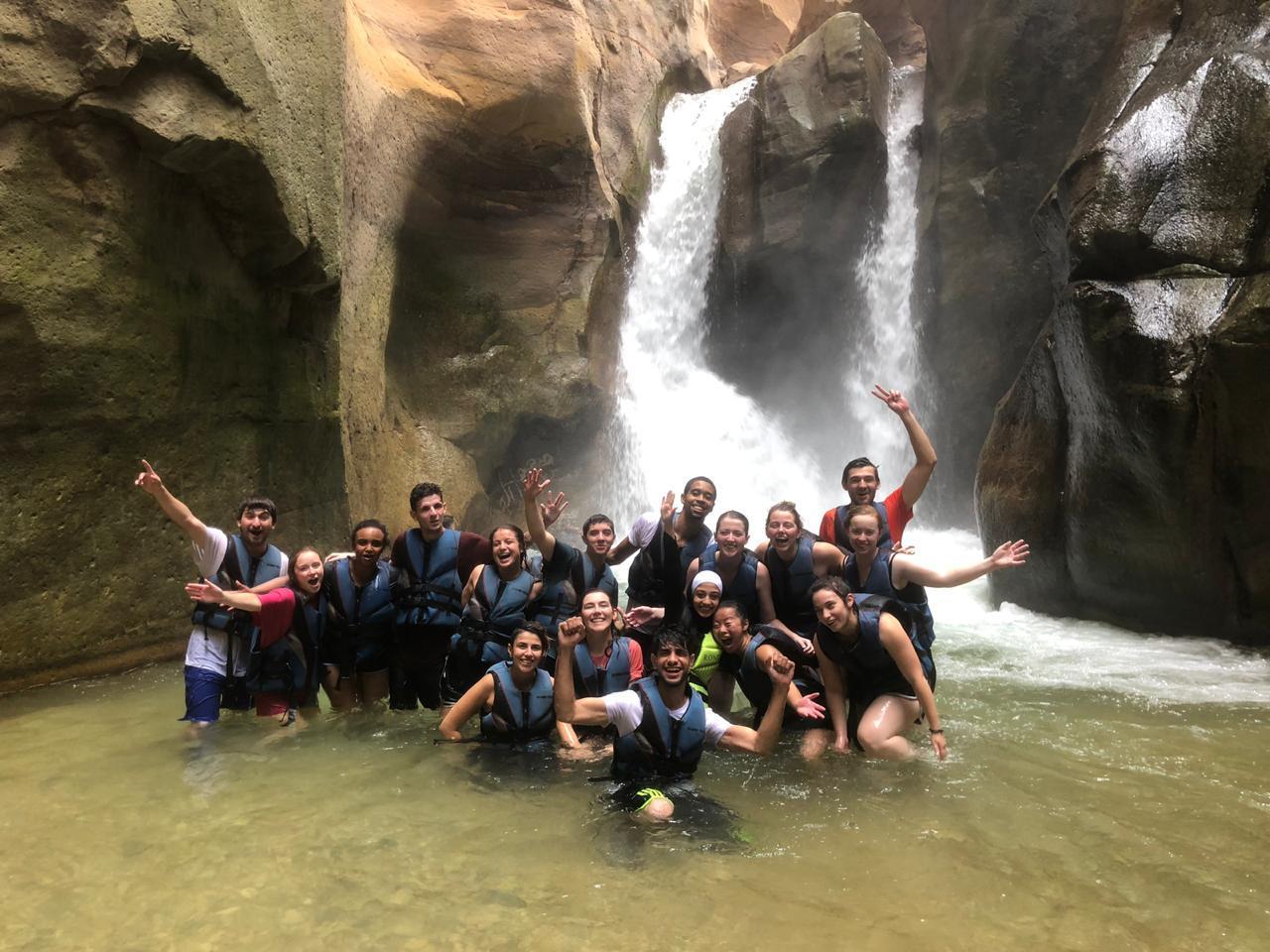 Wadi Mujib – hike through the water