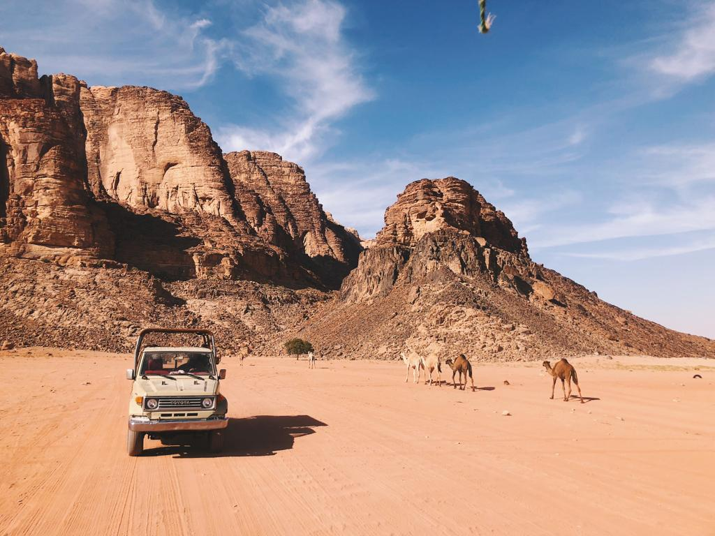 Wadi Rum – means of transportation